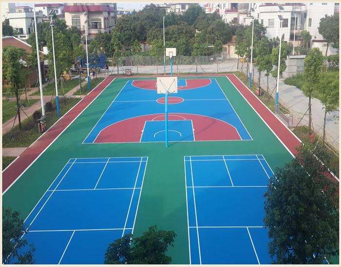 丙烯酸球场_丙烯酸球场材料-武汉志赛体育设施有限公司
